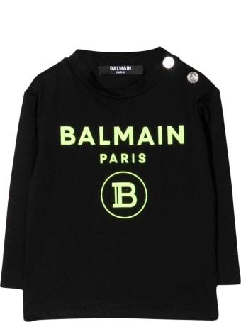 Balmain Black Newborn Sweatshirt