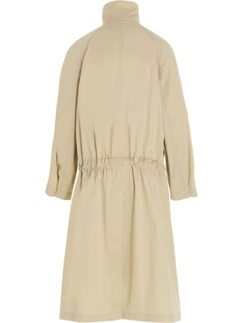 Lemaire 'asymetrical' Trench Coat