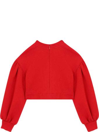 Dolce & Gabbana Red Sweatshirt