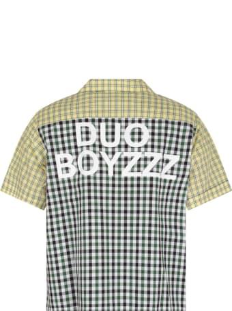 Natasha Zinko Colorful Shirt For Boy With White Logo
