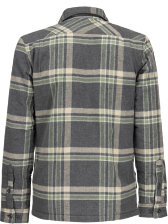 Patagonia Medium Weight Organic Cotton Insulated Flannel Shirt Fjord