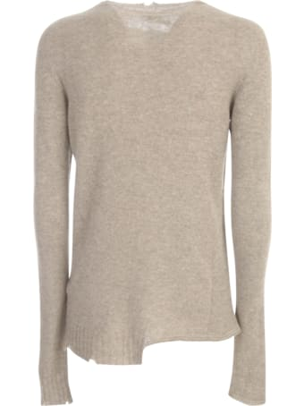 MD75 Cashmere Sweater Crew Neck W/microtears