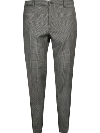 Incotex Check Patterned Trousers