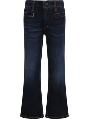 Dondup Blue ''leslie'' Jeans For Girl