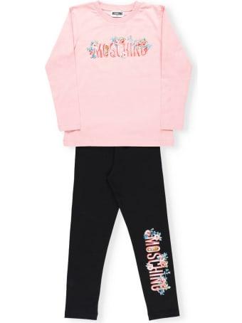 Moschino T-shirt And Leggings Set