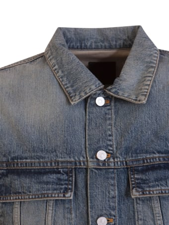 Givenchy Long-sleeve Denim Jacket