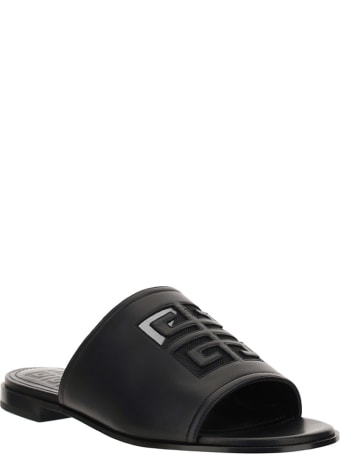 Givenchy 4g Flate Mule Sandal Shoes