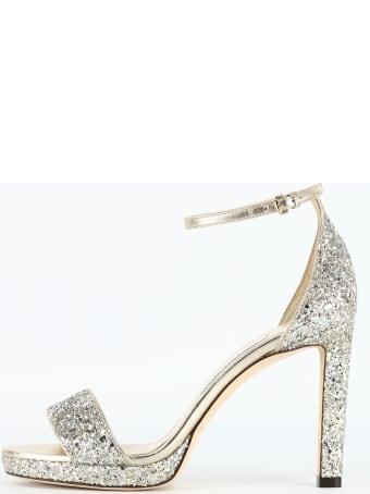 Jimmy Choo Silver Misty Sandal
