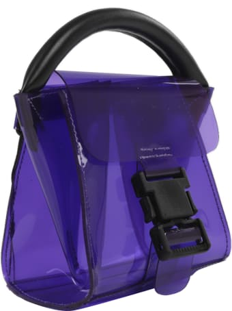 Zucca Purple Buckle Bag Mini