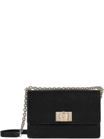 Furla 1927 Black Crossbody Bag
