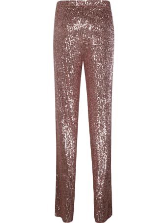 Be Blumarine Sequined Long Trousers