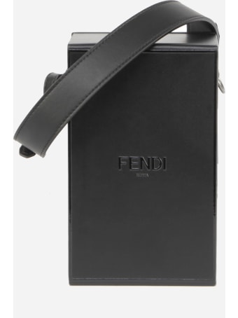 Fendi Vertical Box Bag In Smooth Leather
