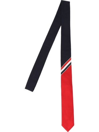 Thom Browne 'funmix Rwb Accent' Tie