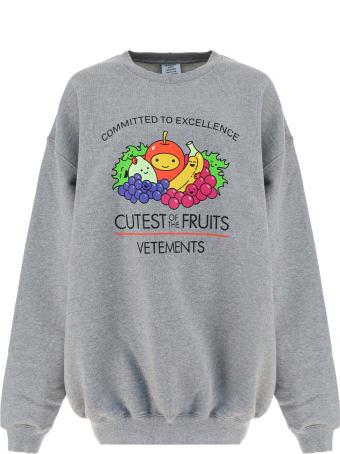 VETEMENTS Cutest Of The Fruits Sweatshirt