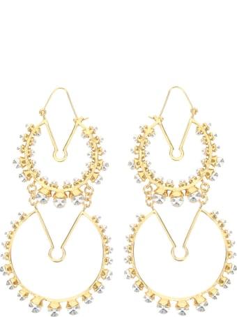 Patou Double Circle Earrings