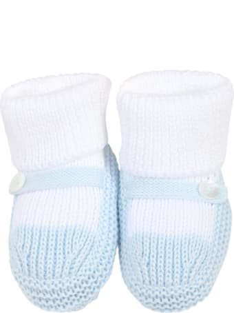 Little Bear Multicolor Baby Bootee For Babyboy