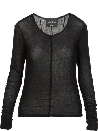Andrea Ya'aqov Viscose Sheer Sweater
