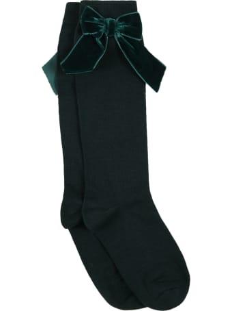 Story loris Green Socks For Girl