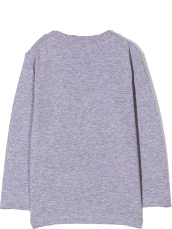 Moschino Grey Cotton Toy Bear T-shirt