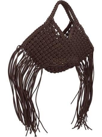 YUZEFI 'woven Baseket' Bag