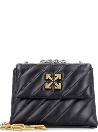 Off-White Jackhammer 19 Leather Shoulder Bag