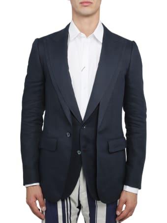 Dolce & Gabbana Blue Jacket