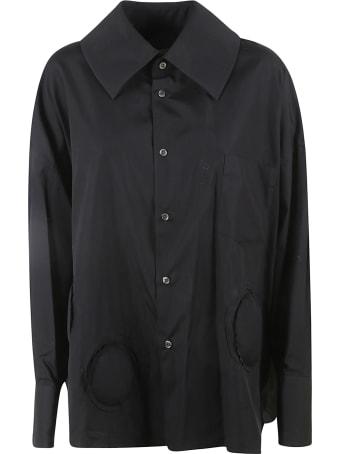 Comme des Garçons Comme des Garçons Patch Detail Oversized Shirt