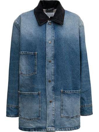 Maison Margiela Denim Shirt With Pockets