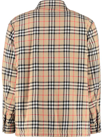 Burberry Checked Overshirt