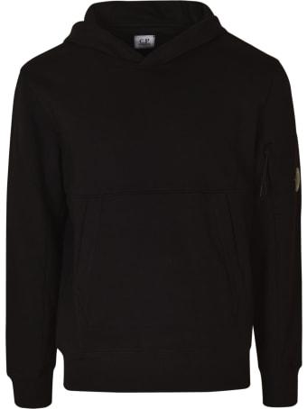 C.P. Company Diagonal Raised Fleece Hooded Sweatshirt