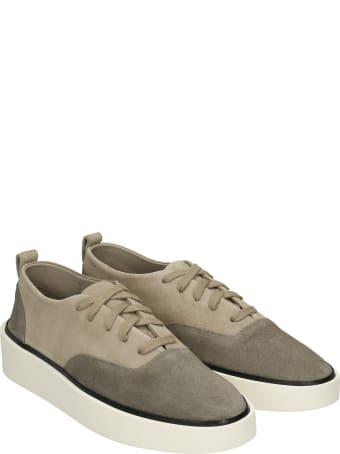Fear of God 101 Sneakers In Grey Suede