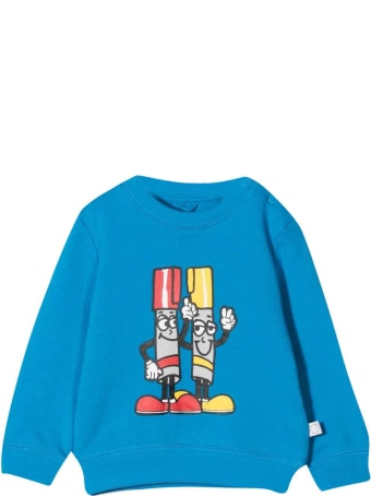 Stella McCartney Kids Newborn Blue Sweatshirt