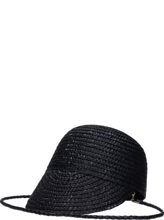 Kate Cate Hats In Black Wool And Polyamide