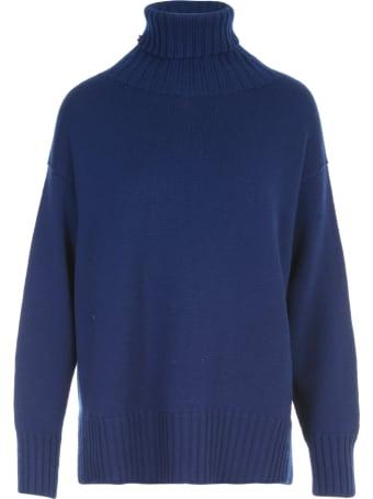 Drumohr Turtle Neck L/s Sweater W/slits