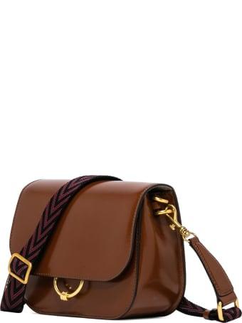 Gianni Chiarini Tobacco Shoulder Bag