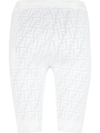 Fendi Logo Detail Shorts