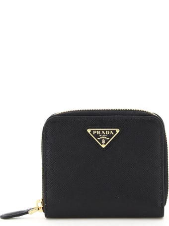 Prada Small Zip-around Wallet