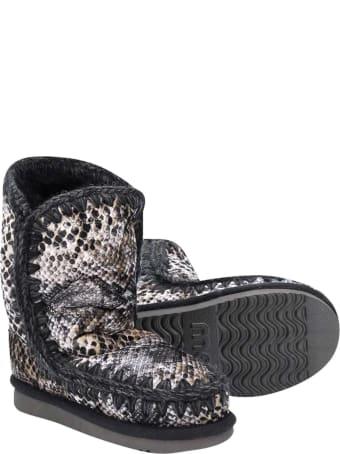 Mou Gray Eskimo Boots