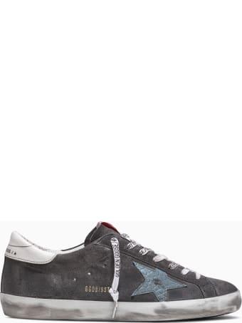 Golden Goose Super Star Suede Sneakers Gmf00101 F000339