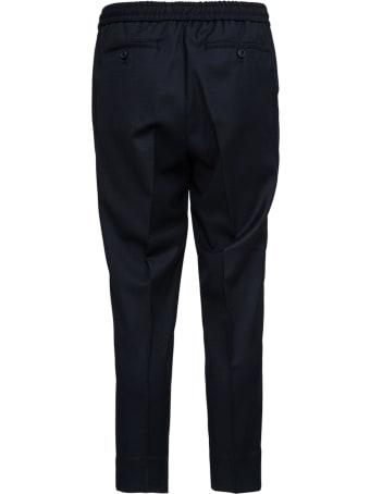 Ami Alexandre Mattiussi Stretch Black Wool Trousers