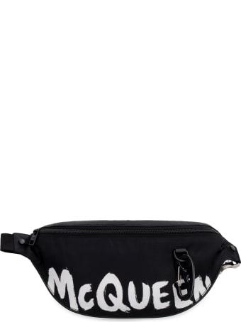 Alexander McQueen Harness Belt Bag With Logo
