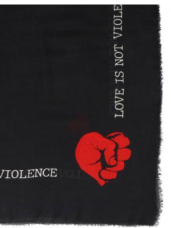 Faliero Sarti 'stop Violence' Scarf