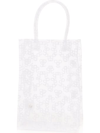 Saks Potts Monogram Print Lap Bag Tote