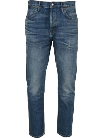 Tom Ford Tapered Fit Non Stretch Denim
