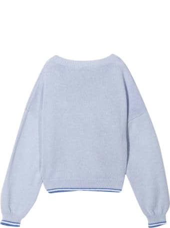 Monnalisa Gray Sweatshirt
