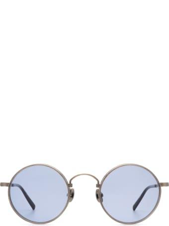 Matsuda Matsuda M3100 Antique Silver / Navy Sunglasses