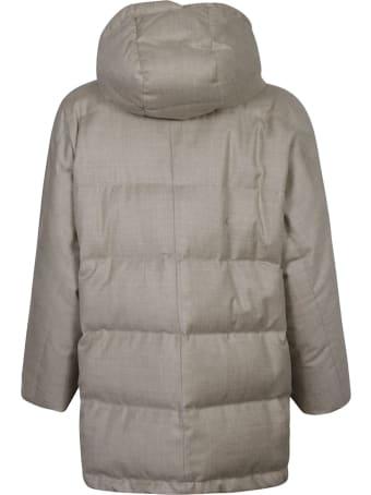 Brunello Cucinelli Concealed Padded Jacket