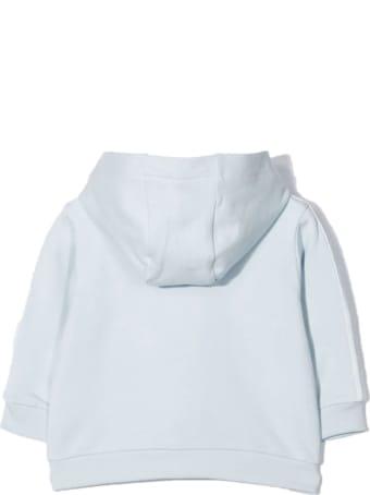 Fendi Light Blue Coton-blend Sweatshirt