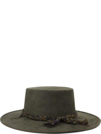 Mouty Khaki Belen Hat