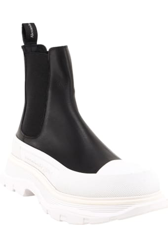 Alexander McQueen Chelsea Tread Slick Boots